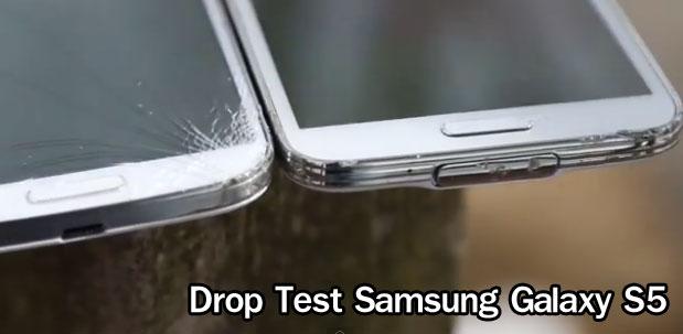 ไม่แตกค่า! Samsung Galaxy S5 รอดชีวิตจากการ Drop Test ส่วน ...