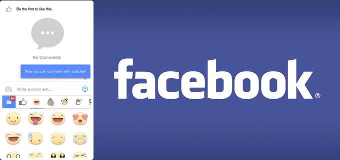 Facebook เริ่มเปิดให้ Comment ด้วยสติ๊กเกอร์ได้แล้ว ...