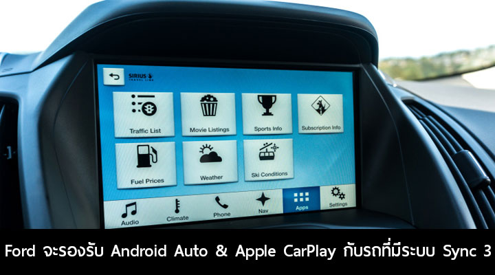 ford android auto apple carplay sync 3. Black Bedroom Furniture Sets. Home Design Ideas