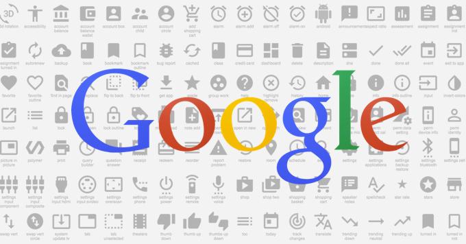 [Download]Google ปล่อยฟรี 750 ไอคอน ให้โหลดไปใช้งานได้แบบไม่มีค่าใช้จ่าย!!