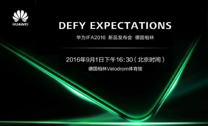 Huawei ส่งเทียบเชิญร่วมงานเปิดตัวตระกูล Mate รุ่นใหม่ ช่วงงาน IFA ณ กรุงเบอร์ลิน