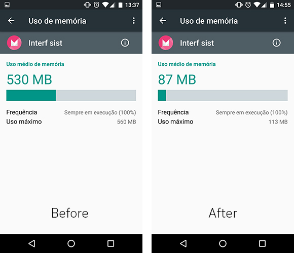 how to fix ram issue on android lgg4