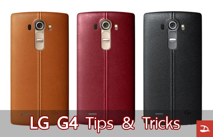 14 ฟีเจอร์เบสิคๆแต่ประโยชน์เพียบของ LG G4 ที่หลายๆคนมองข้าม