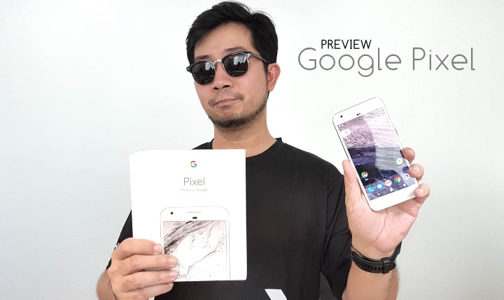 Preview : พรีวิว Google Pixel มือถือจาก Google ที่เค้าว่าเทพหนักหนา