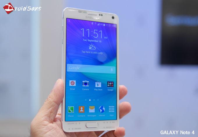 เอ๊ะยังไง? คู่มือ Samsung Galaxy Note 4 บอก ช่องว่างระหว่างหน้าจอกับขอบโลหะเป็นเรื่องปกติ!!!