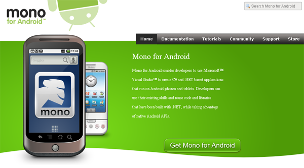 Novell หัก Microsoft ปั้น Mono for android | DroidSans