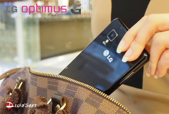 พรีวิว LG Optimus G นี่สิ ค่อยสมชื่อ Optimus