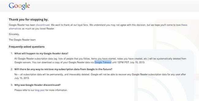 ลาแล้ว Google Reader   แต่ RSS ยังต้องเดินหน้าต่อไป | DroidSans