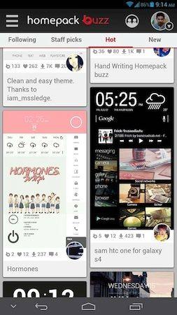Buzz Launcher [Freeware] เพิ่มสีสันให้ Device ของคุณได้ง่ายๆ | DroidSans