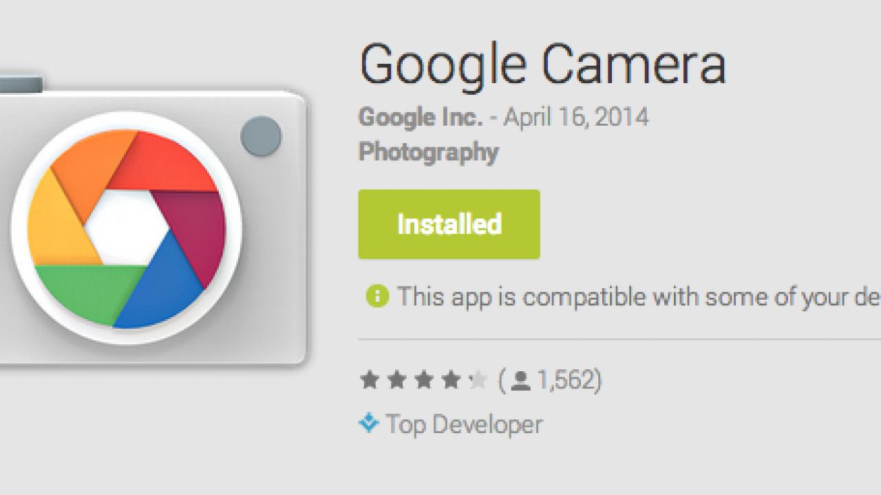 โหลดด่วน! Google Camera แอพกล้องเพียวๆเช็งๆจากต้นตำหรับ
