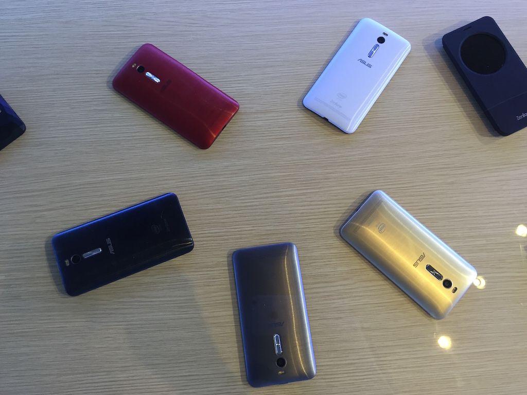 Zenfone 2 Color Options