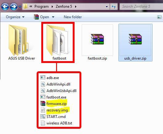 How-to] วิธีการ Flash ROM ศูนย์ สำหรับ ASUS Zenfone 5 (วิธีแก้สำหรับ
