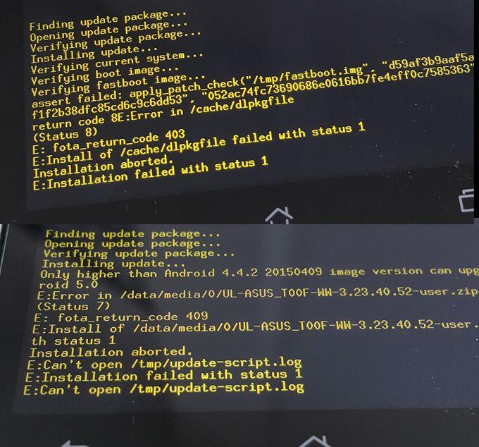 How-to] วิธีการ Flash ROM ศูนย์ สำหรับ ASUS Zenfone 5 (วิธี