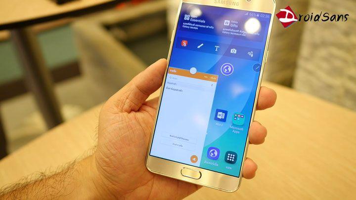 Preview : พรีวิว Samsung Galaxy Note 5 แกะกล่องเครื่องไทย