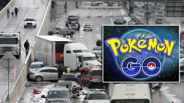 Pokemon Go ต้นเหตุอุบัติเหตุครั้งใหญ่