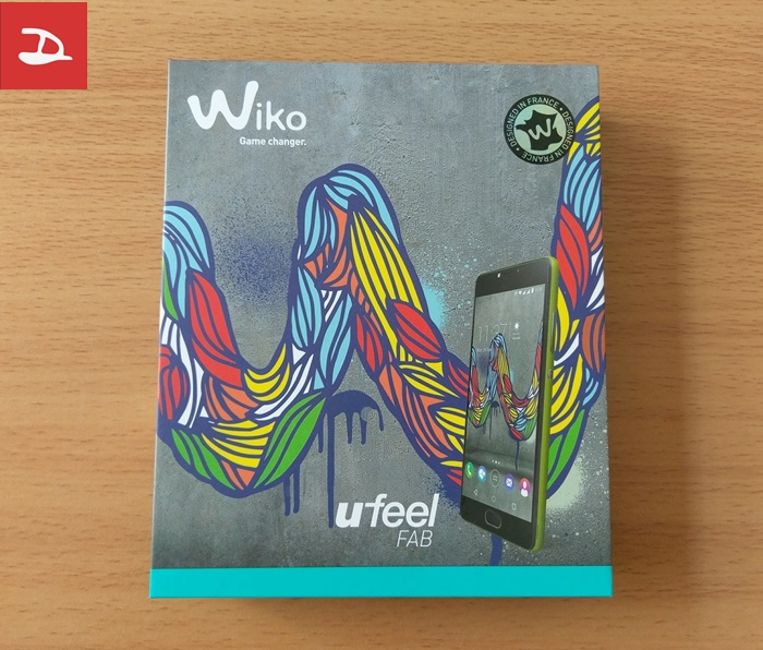 Wiko U Feel Fab - box