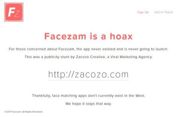 Facezam-is-a-hoax