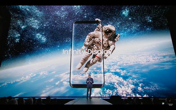 Galaxy S8 Infinite Display