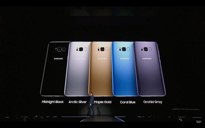 Galaxy S8 ทั้ง 5 สี
