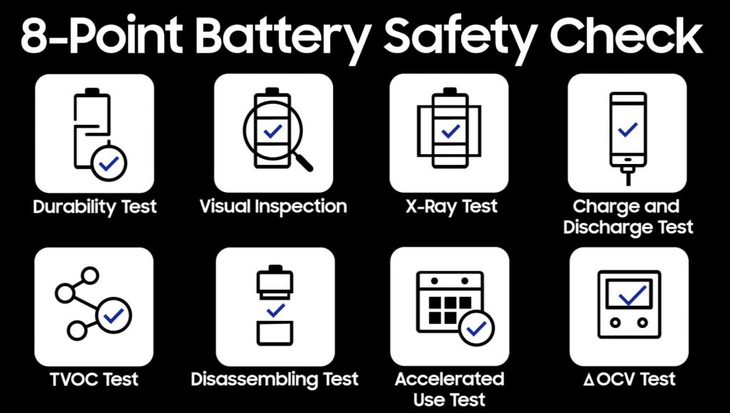 Galaxy S8 Safety check