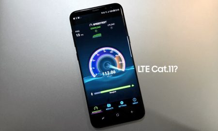 Galaxy S8 is LTE Cat11 or Cat9
