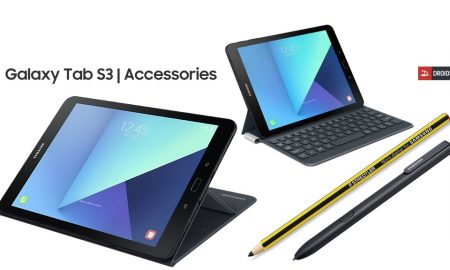 Galaxy Tab S3 accessories