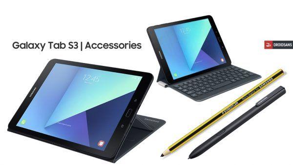 Galaxy Tab S3 accessories