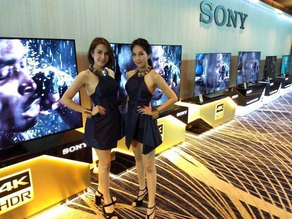 Sony BRAVIA 2017 Line Up