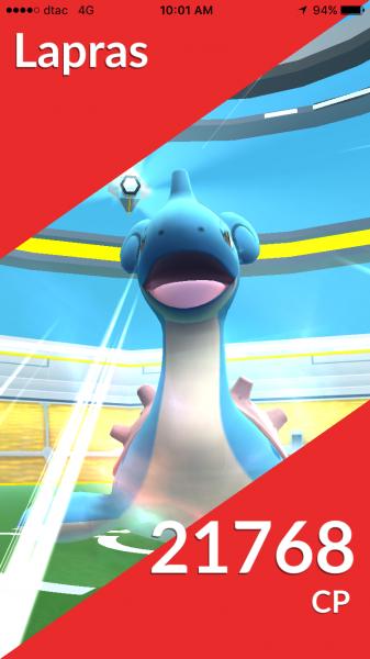 Pokemon Go Raid Battle - CP x10