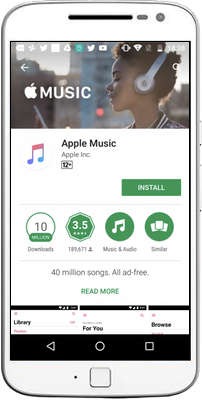 Apple Music is on Android