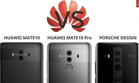 Compare Huawei Mate10 Pro