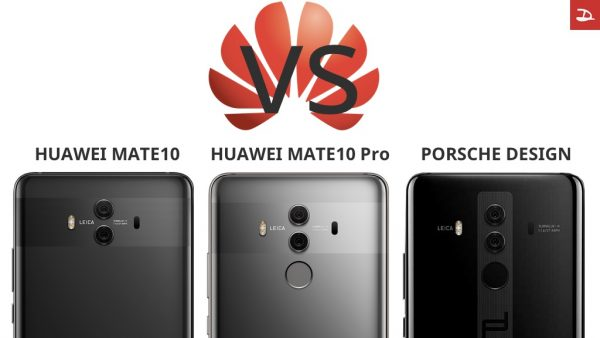 Compare Huawei Mate10 Pro