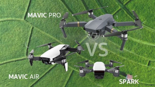compare DJI Mavic Air