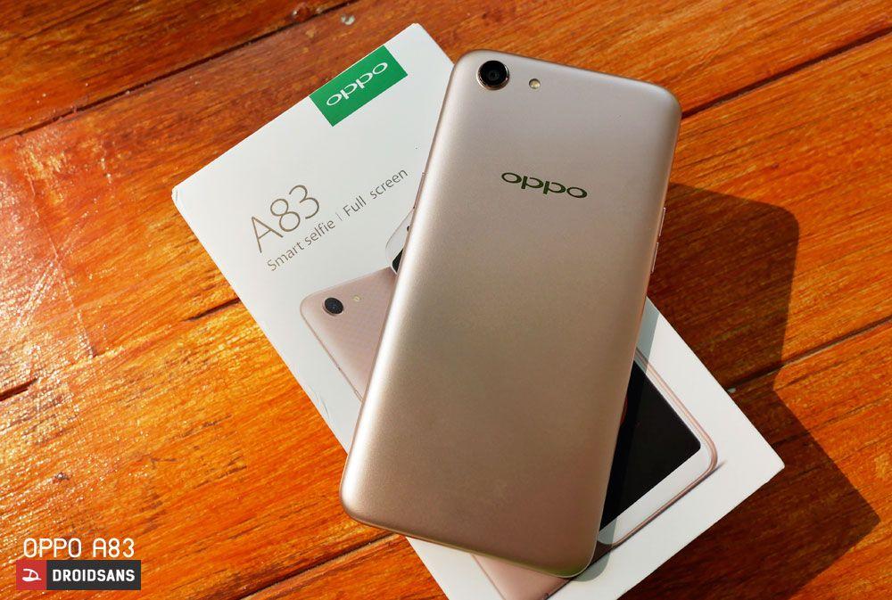 Review | รีวิว OPPO A83 น้องใหม่ที่มาพร้อมกล้อง A I  Beauty ในราคา