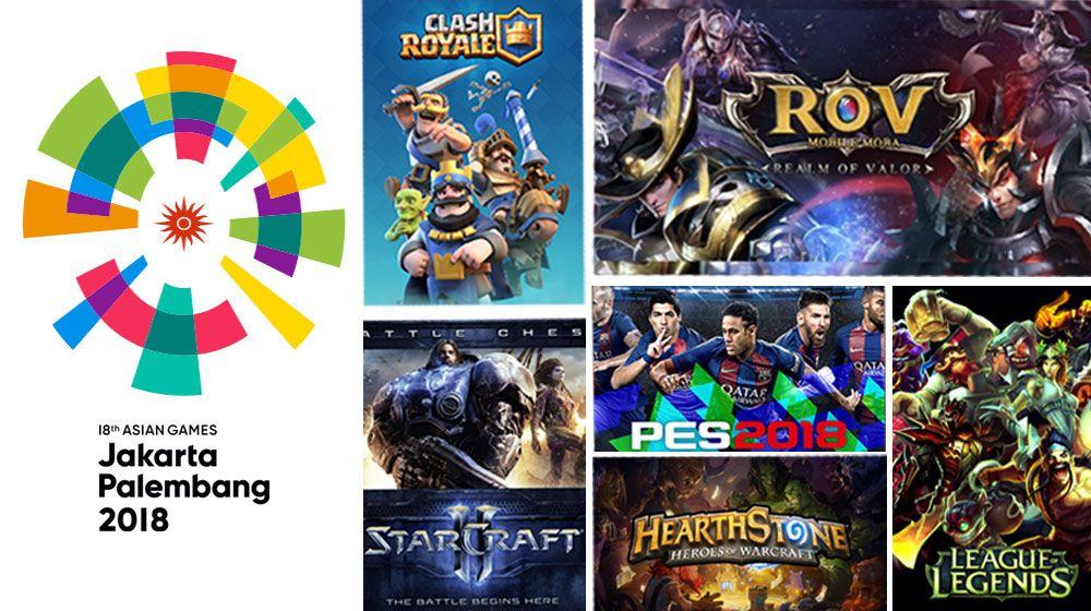 asian game 2018 esport - Asian Games E Games