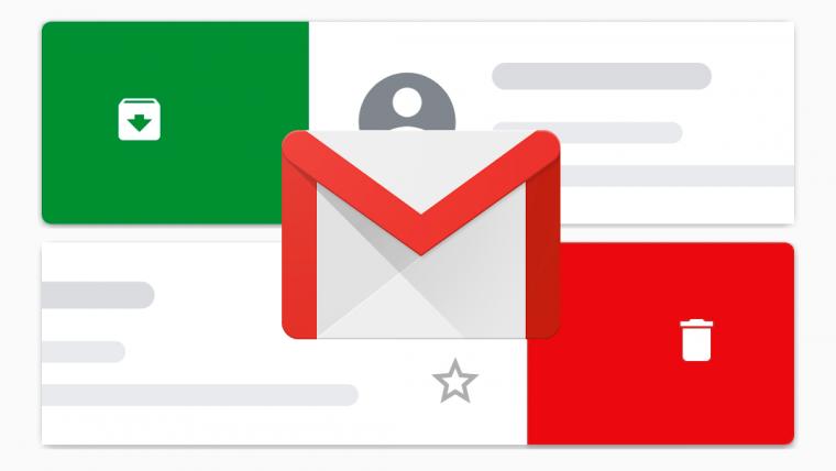 Gmail Swipe Settings