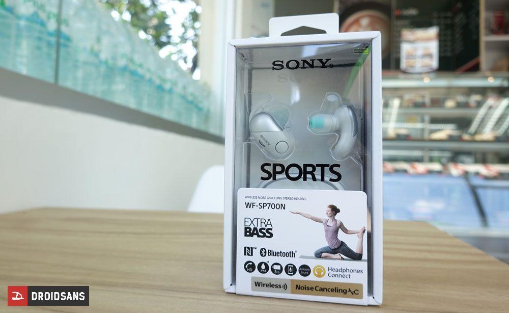 รีวิว Sony WF-SP700N