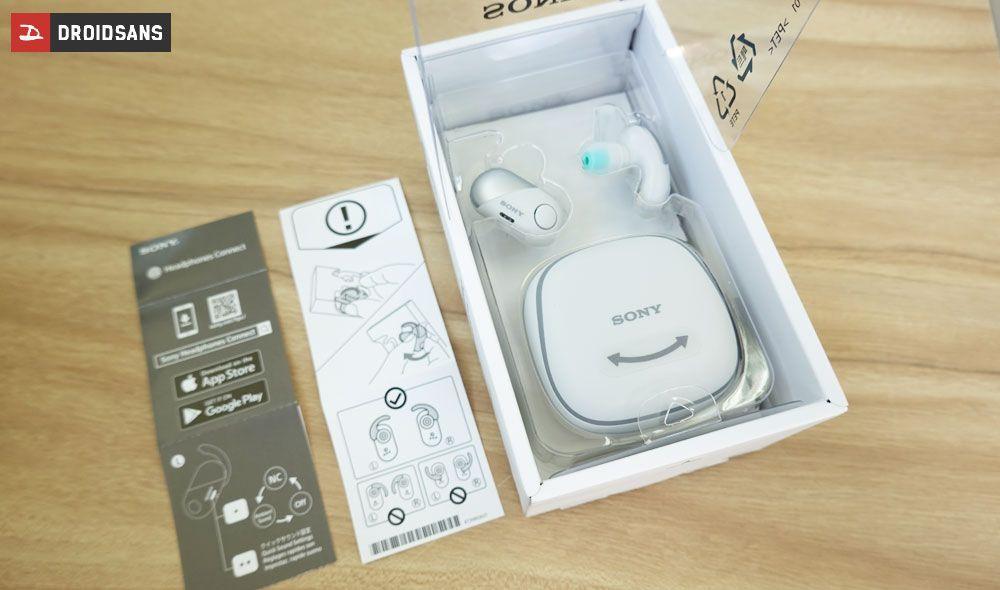 แกะกล่อง Sony WF-SP700N