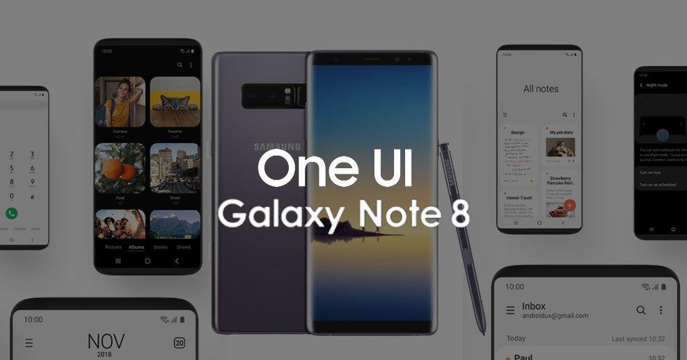 อัพเดท Galaxy Note 8 เป็น Android 9 Pie งานนี้ได้ทั้ง One UI พร้อม
