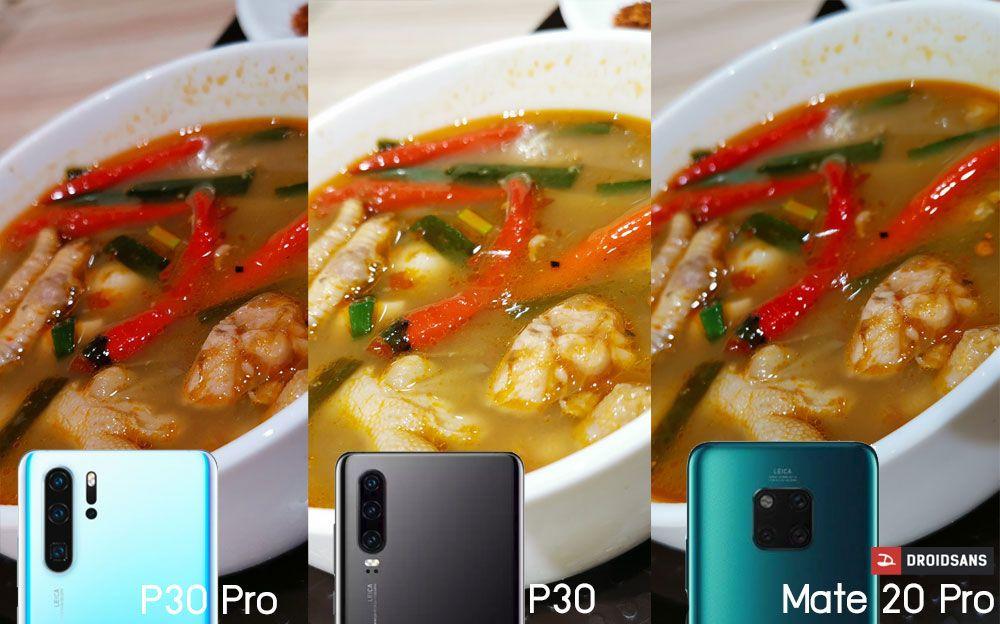 Huawei P30 Pro กล้องดีขึ้นแค่ไหน หากเทียบกับ Huawei Mate 20