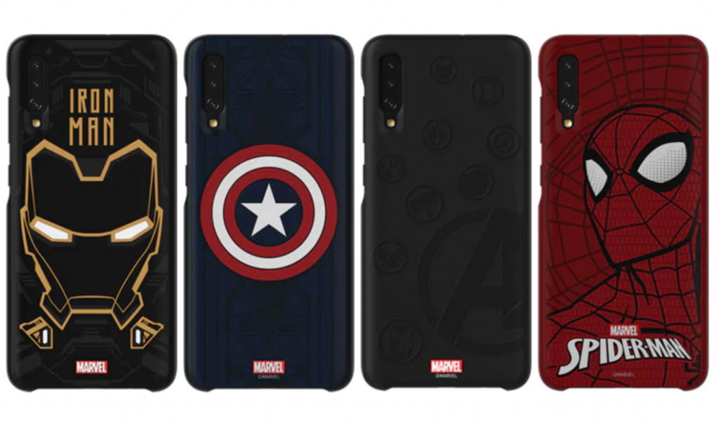 Marvel Galaxy A50 and A70 cases appeared on the website of