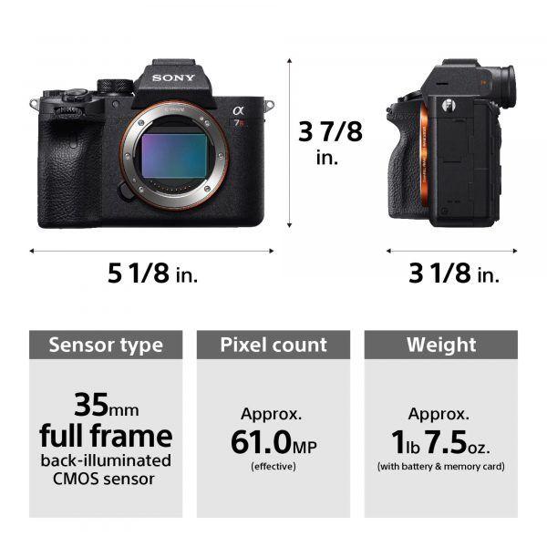 Sony เปิดตัว A7R IV กล้อง Mirroless ตัวแรกของโลก ที่ใช้เซนเซอร์ฟูล