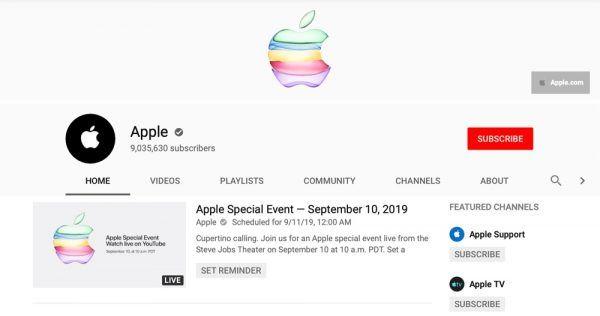 Apple Special Event - September 10, 2019