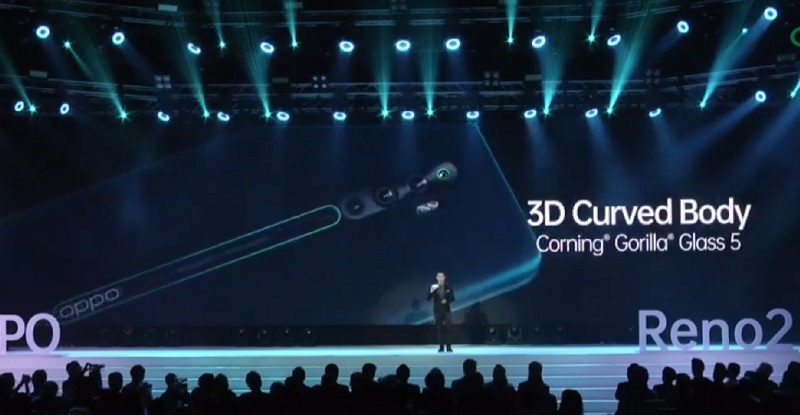 OPPO Reno 2F and Reno 2 mobile phones, 4 48MP cameras with