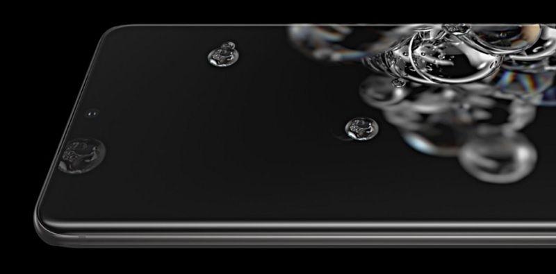หน้าจอ Galaxy S20
