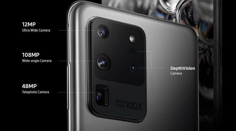 เลนส์กล้อง Galaxy S20