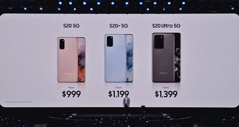 ราคา Galaxy S20 ทุกรุ่น