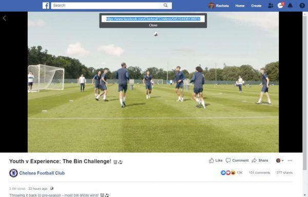 วิธีดาวน์โหลดวิดีโอบน Facebook
