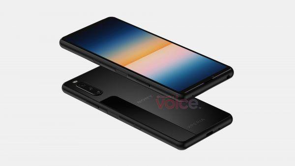 Sony Xperia 10 III render leak