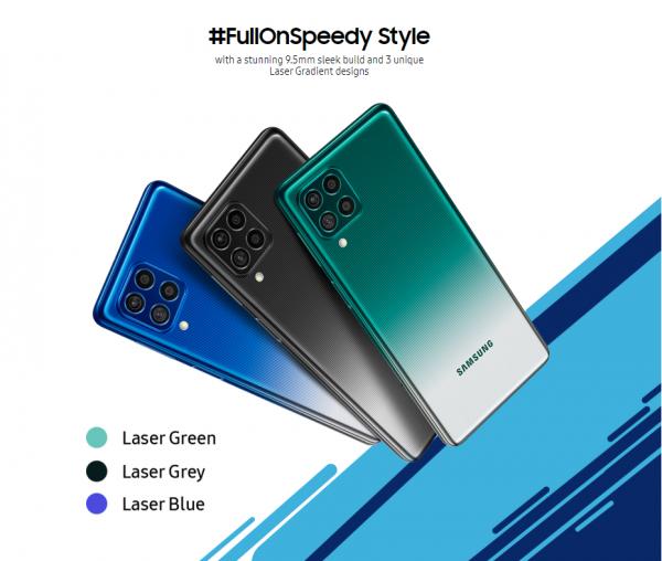 Samsung เปิดตัว Galaxy F62 มือถือแบตใหญ่ 7000 mAh ชิป Exynos 9825 เคาะเริ่มต้นไม่ถึงหมื่น | DroidSans